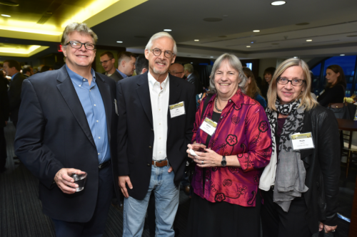 Friends and Colleagues of Peter Jacobson gathered for the celebration