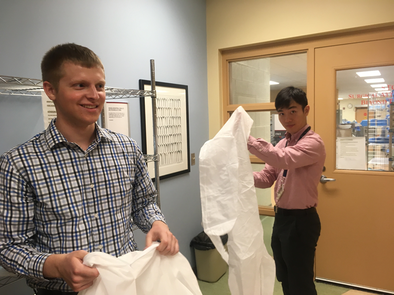 """""""The CHIP internship was a great learning experience for me as it showed me the entirety of an observational study outside the classroom, from enrolling study participants to analyzing the dataset."""" Isaac Kim, Hospital & Molecular Epidemiology MPH (2018)"""