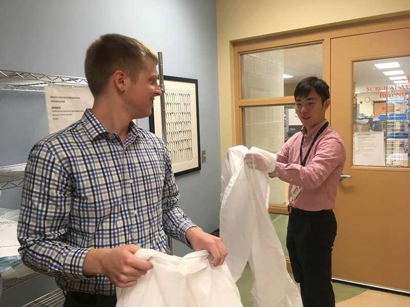 """""""Having the ability to witness the work of an Infection Preventionist first-hand. Whether this was through attending meetings or helping out with work in the office, it was an experience that I feel prepared me adequately for future work in the field."""" Michael Osterman, Hospital & Molecular Epidemiology MPH (2018)"""