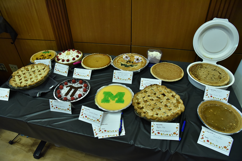 Pie competition