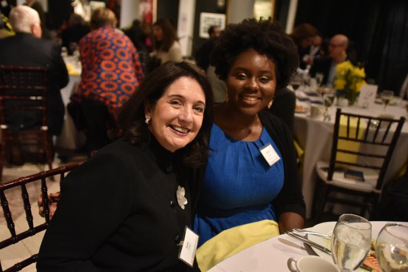 A night of meaningful connections between alumni and students at the Scholarship Dinner