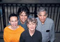 Photo of Noreen Clark with her family, 2004
