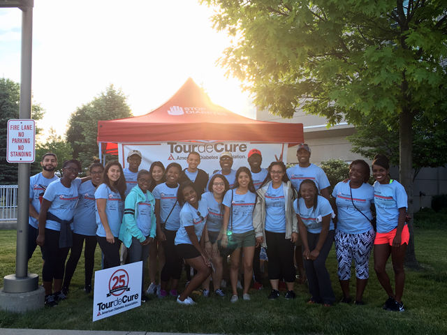 On a beautiful Saturday morning, the SEP 2016 Cohort were up and out at Washtenaw Community College to serve as volunteers at the American Diabetes Association Tour de Cure Race fundraiser. Our SEP 2016 cohort had the largest volunteer group with 25 volunteers.