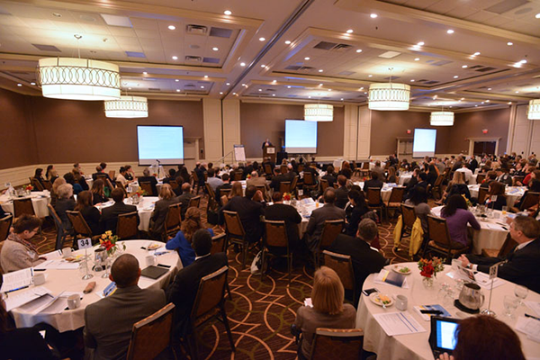 Over 300 friends, colleagues, faculty and students from across the country packed the ballroom to learn and share ideas.