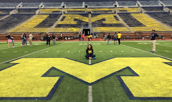 A student in the Big House