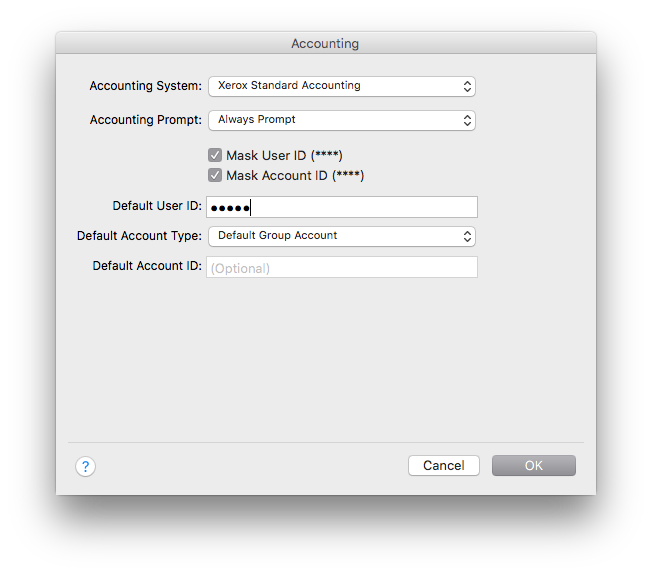 Installing Xerox Printers for OSX | Computing