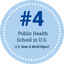 #4 Public Health School in U.S.