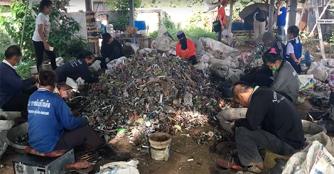 E-waste recyclers in Thailand