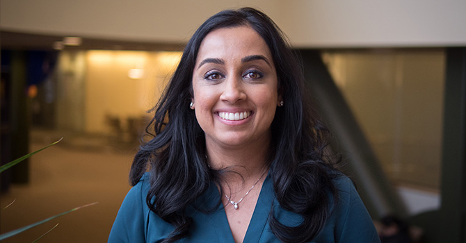 Minal Patel Selected for National Academy of Medicine's Emerging Leaders in Health & Medicine Program