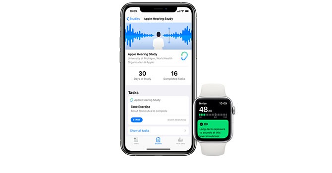 Michigan Public Health Working with Apple on Study on Sound Exposure in Daily Life