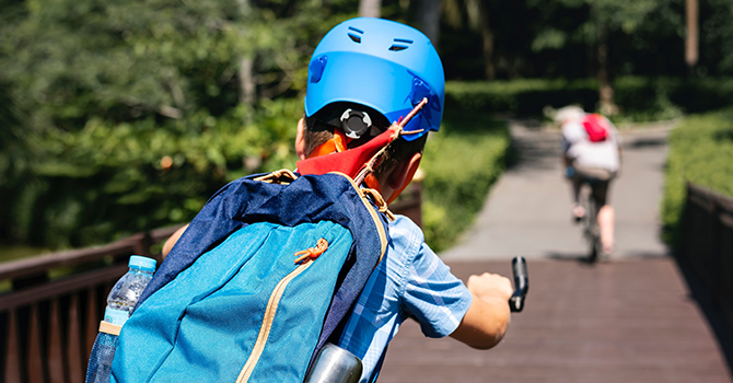 IN THE NEWS: Approximately 1 in 5 kids Never Wears a Helmet Bike Riding