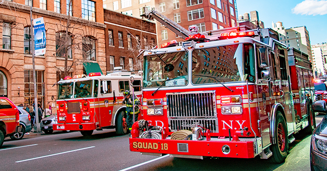New York Fire Trucks