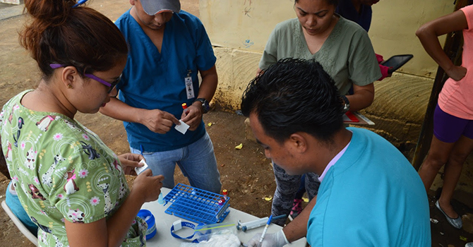 vaccinations in Nicaragua