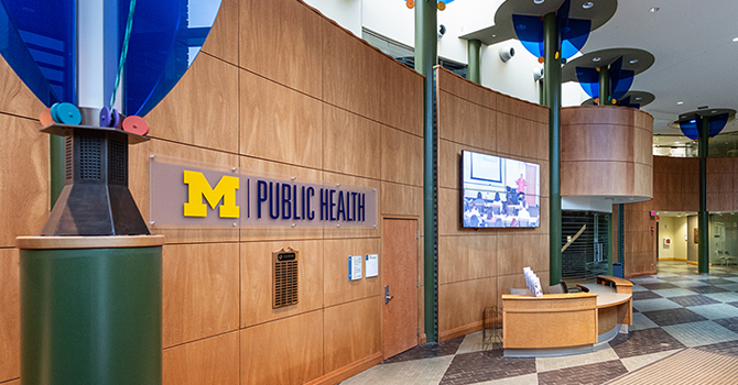 The Michigan Public Health lobby