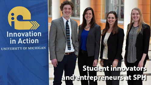 SPH students solve public health problems through Innovation in Action