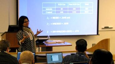 Mousumi Banerjee Recognized with Collegiate Research Professorship