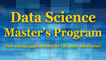 New Data Science Master's Program Created