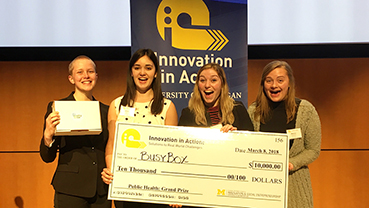 Busy Box Takes Grand Prize in Innovation in Action Public Health Showcase