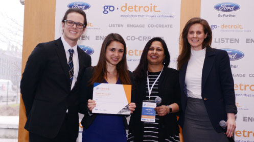 Innovation in Action alumni teams take first, second place in Ford's Go Detroit Challenge
