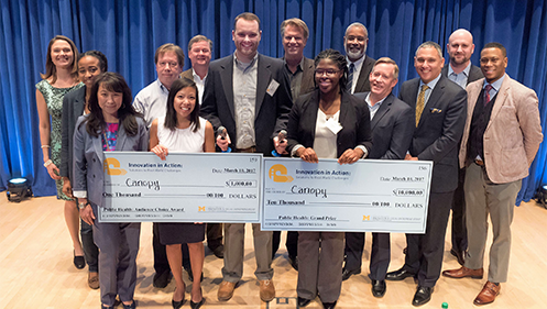 Canopy takes grand prize in Innovation in Action public health challenge