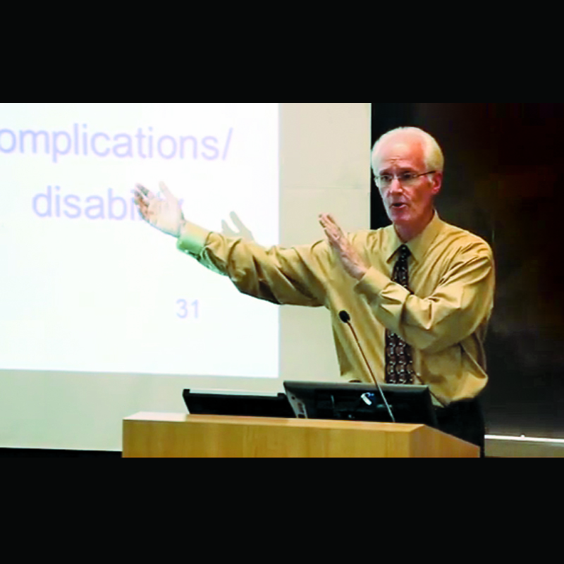 Curricular Innovations: Ken Warner and Public Health 200