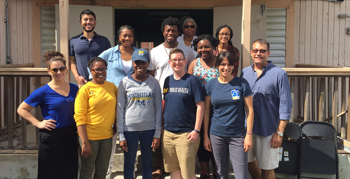 Michigan Public Health Students Assist CDC in Post-Hurricane Needs Assessment in US Virgin Islands