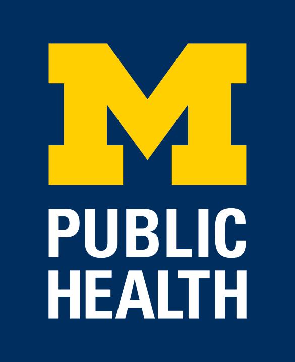 University of Michigan School of Public Health Logo