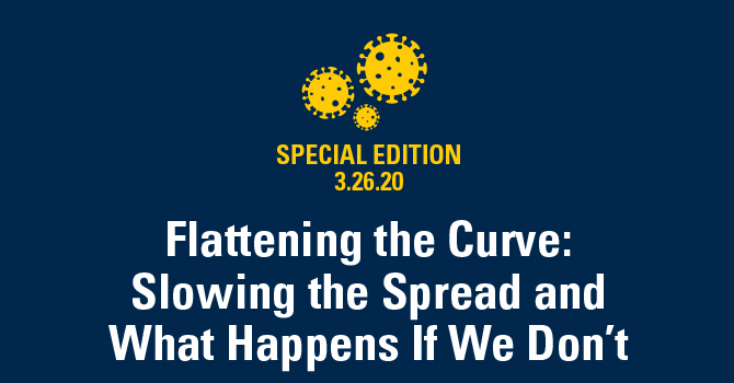 Flattening the Curve: Slowing the Spread and What Happens If We Don't