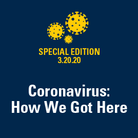 illustration of the COVID 19 Coronavirus