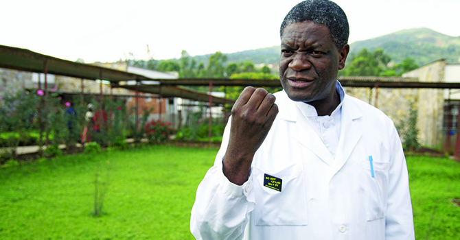 Denis Mukwege, the Nobel Peace Prize, and the Suffering of Congolese Women
