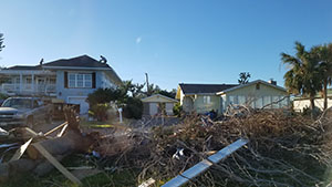 Debris in Texas