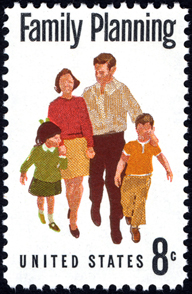 Family Planning Stamp