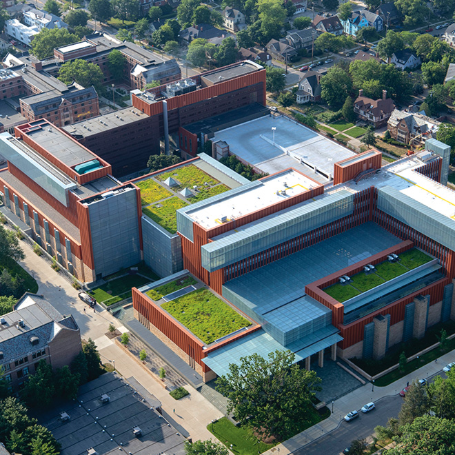 Green roofs on the Michigan Campus