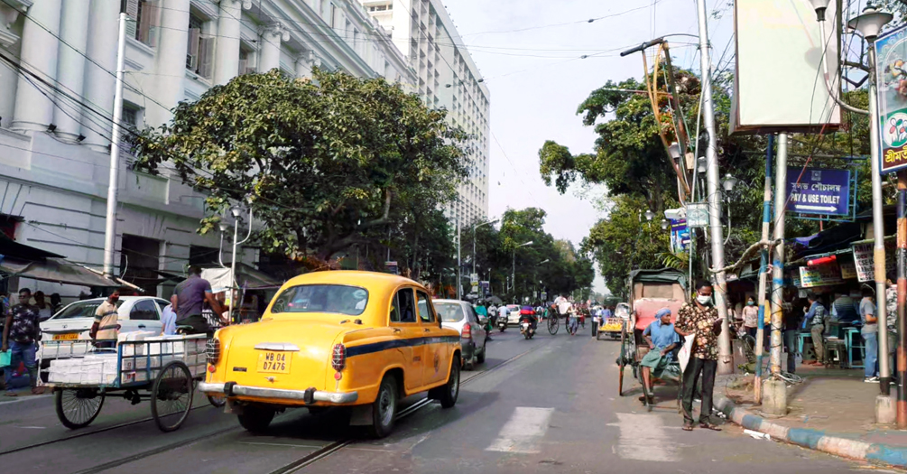College Street, North Kolkata, India. Photo by Pratiti Ghosh.