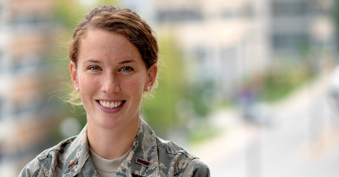 For Future Generations: A Diversity of Passions Propels a Military Professional forward in Public Health
