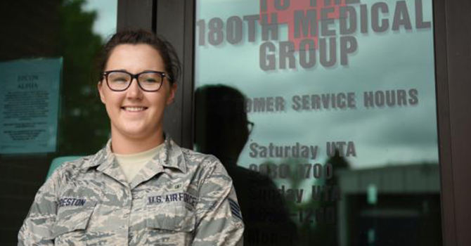 A Vanguard of Online Public Health: Military Medic Aims for More