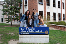 students at the School of Public Health